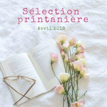 Sélection littéraire du mois d'avril